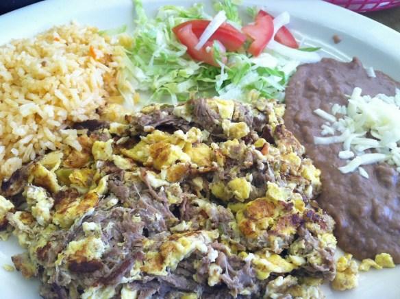 Beef machaca Taqueria Tlaquepaque