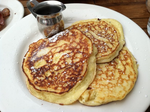 Lemon ricotta pancakes Plow