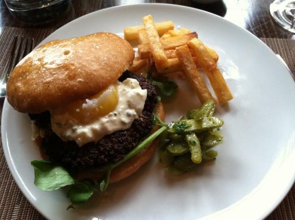 Juicy Lucy butter burger Maverick
