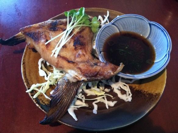 Hamachi kama Sushi Delight