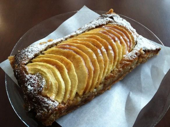 Apple tarte tatin Caffe Pascucci