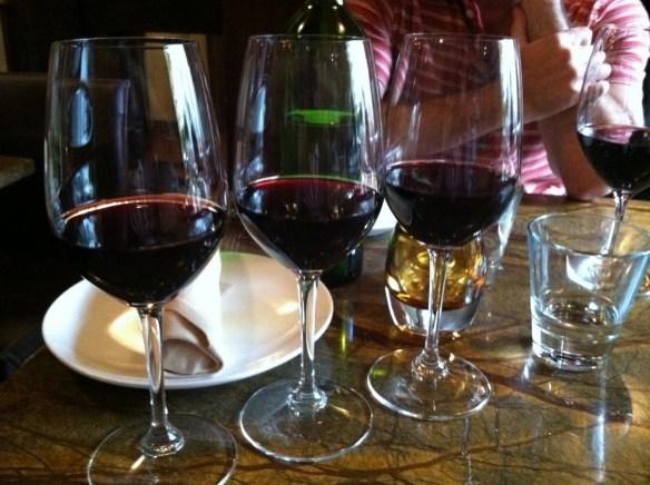 Spanish red wine flight Bin 38