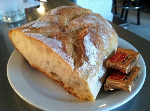 Sourdough bread Anchor Oyster Bar