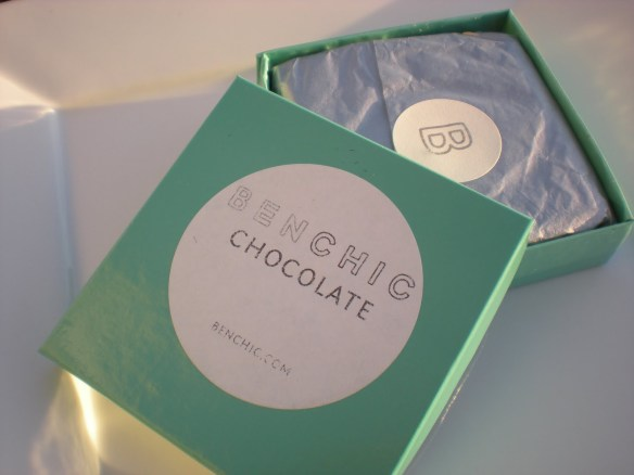Benchic Chocolate packaging