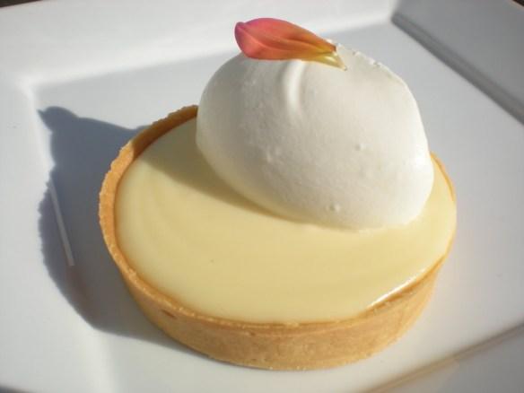 Lemon cream tart Tartine Bakery