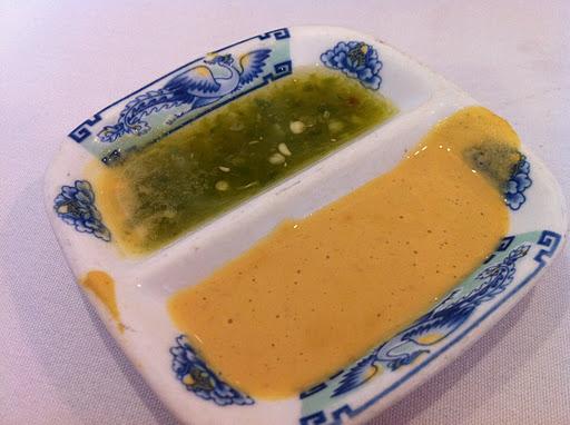 Dipping sauces Ton Kiang