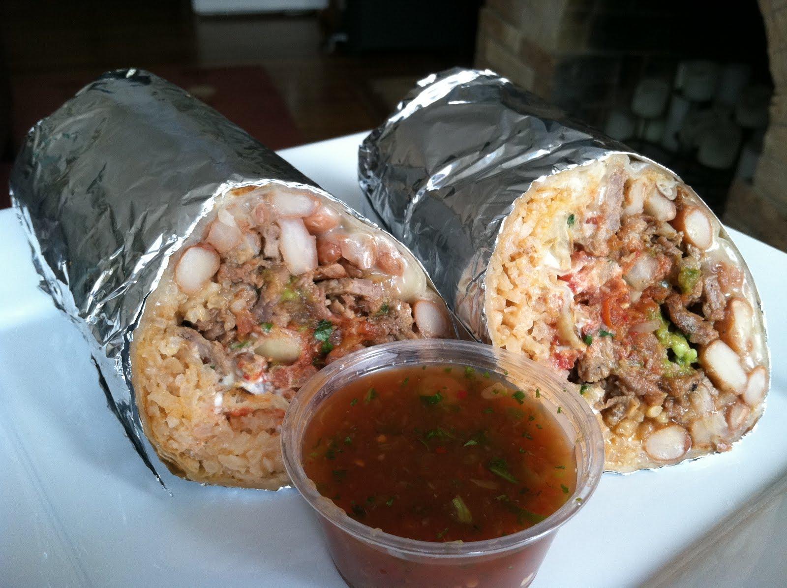 Carne asada burrito – El Farolito | Vittle Monster