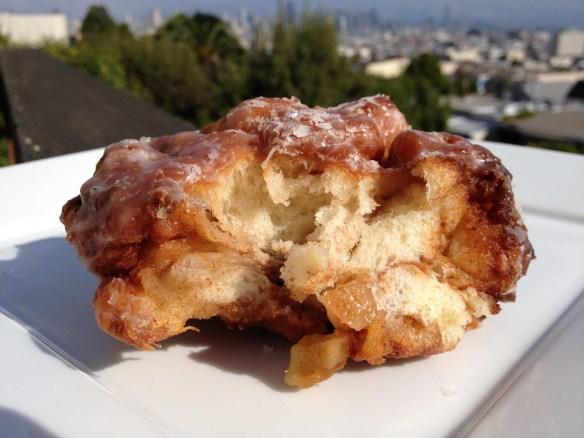 Apple fritter Bob's Donut & Pastry Shop