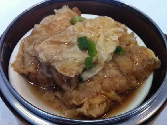 Tofu skin rolls Ton Kiang