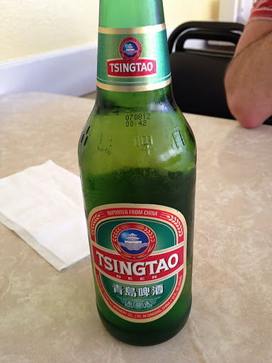 Tsing Tao beer Turtle Tower Restaurant