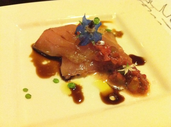 Albacore crudo Reform Club