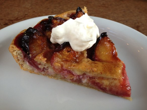 Plum frangipane tart Mission Pie