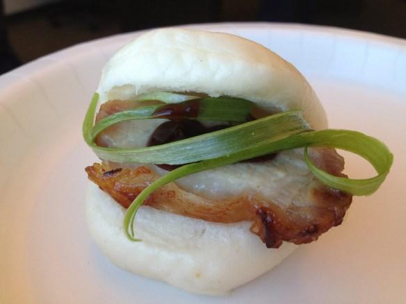 Pork belly steamed bun