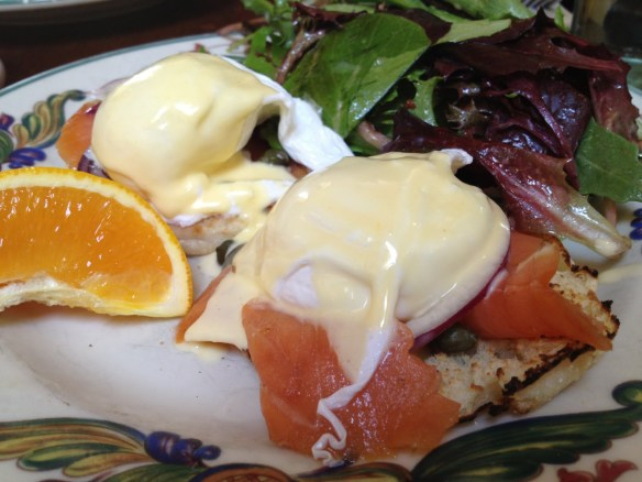 St. Trop eggs benedict Zazie