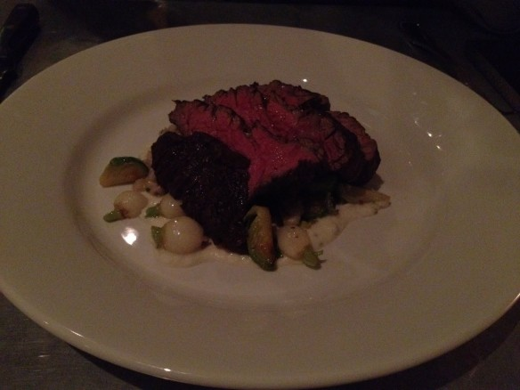 Pan roasted bavette steak Range
