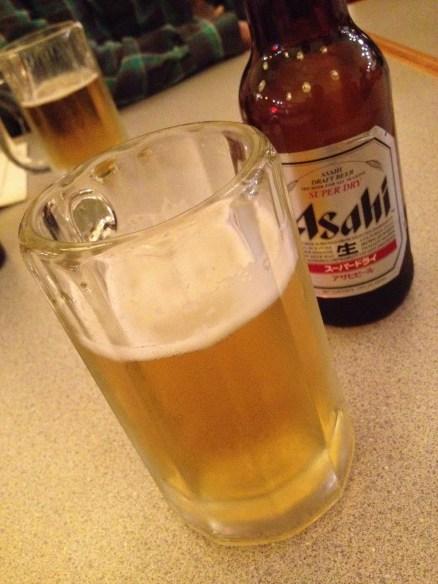 Asahi beer Tenka Japanese Restaurant