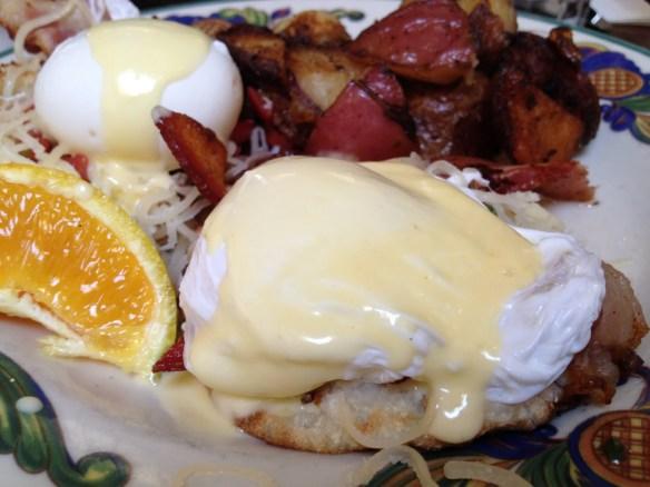 Albert eggs benedict Zazie