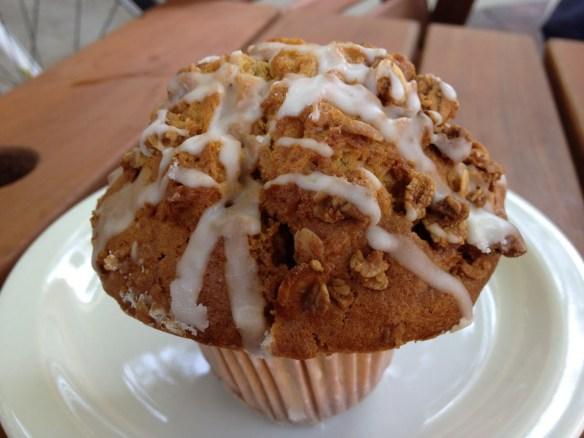 Pumpkin trio muffin Koffi
