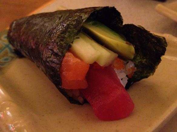 Road runner hand roll Tenka Japanese Restaurant