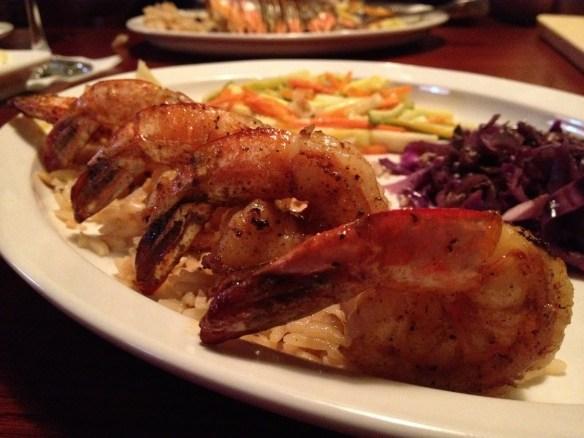 Cajon shrimp The Lobster House