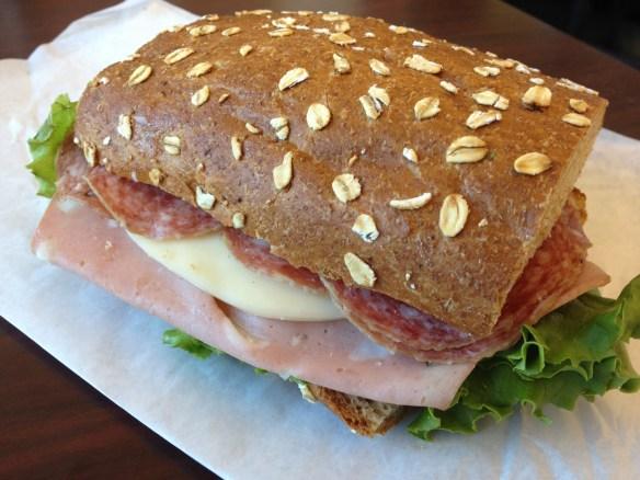 Italian sub Luigi's Sandwich Palace
