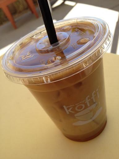 Iced coffee Koffi
