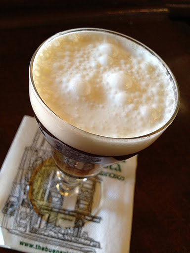 Irish coffee The Buena Vista