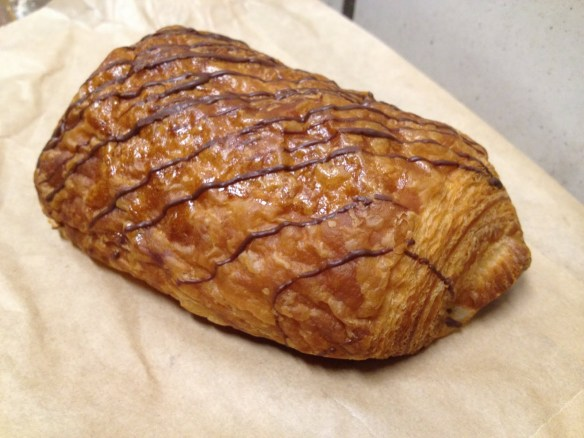 Chocolate croissant Four Barrel Coffee