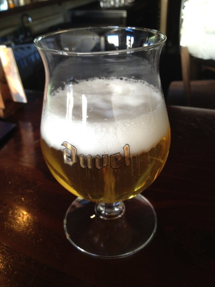 Duvel golden ale Monk's Kettle