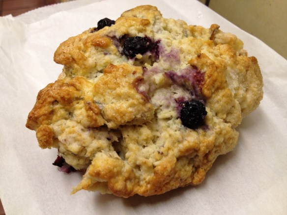 Blueberry pear scone Arizmendi Bakery