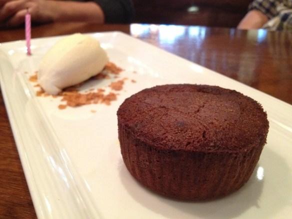 Chocolate fondant Bisou
