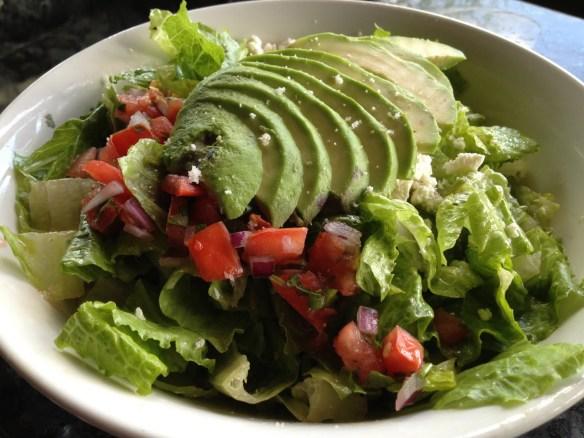 Avocado salad Cafe Flore