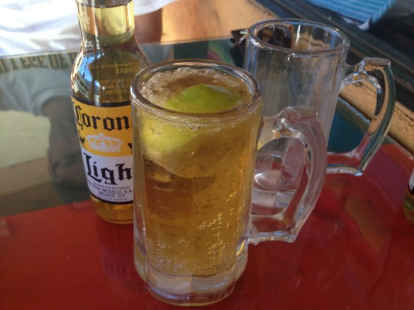 Corona light beer JJ's Mexican Oasis