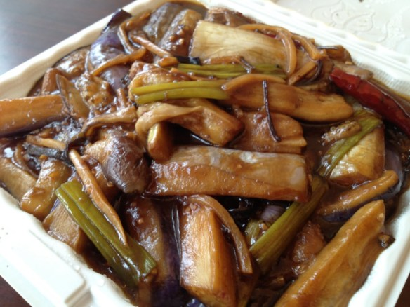 Szechuan eggplant Grand Palace Restaurant