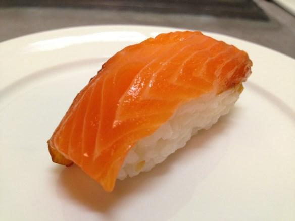 Sake nigiri Safeway