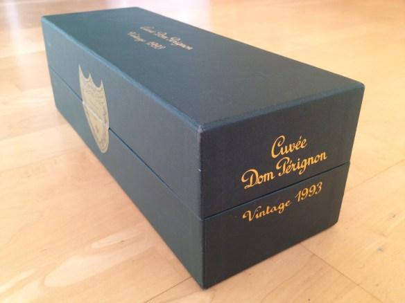 Dom Perignon champagne 1993