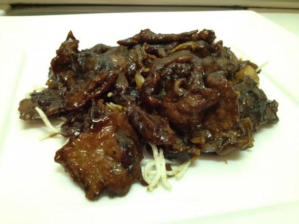 Mongolian beef Eric's Restaurant