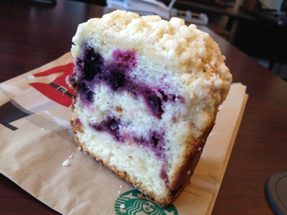 Very berry coffee cake Starbucks