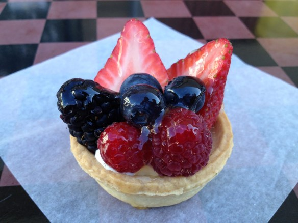 Fresh fruit tartlet Noe Valley Bakery