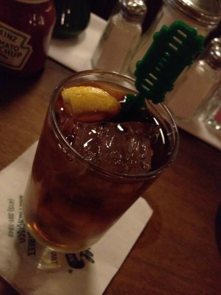 Iced tea Tadich Grill