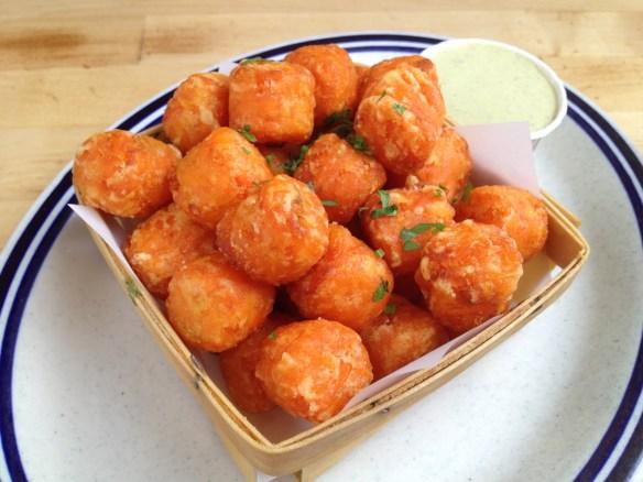 Yam-yam tater tots Criolla Kitchen