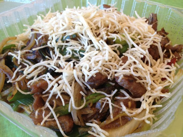 Mongolian beef Chef Wang Restaurant