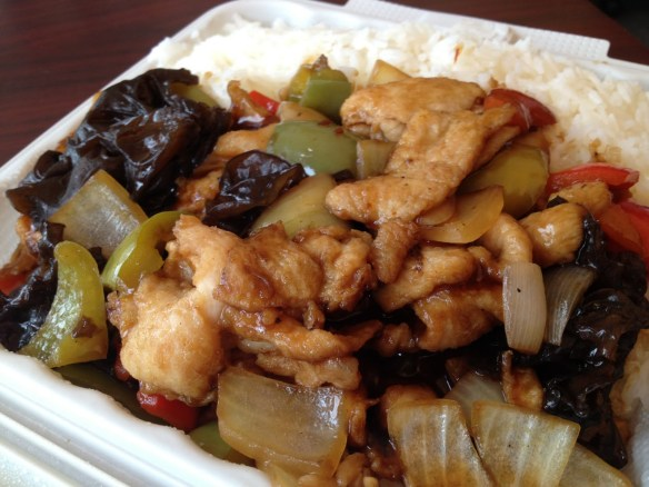 General Tso's chicken Grand Palace Restaurant