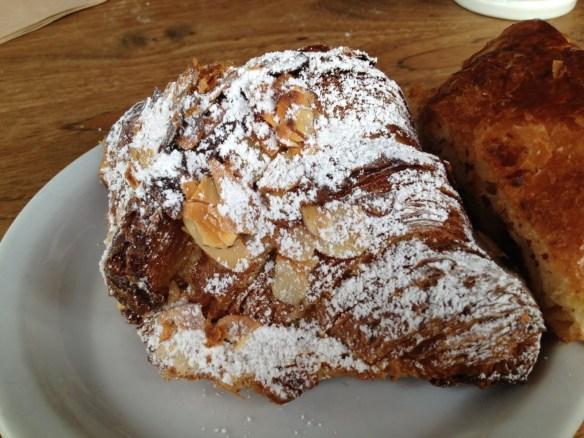 Frangipane almond croissant Tartine Bakery