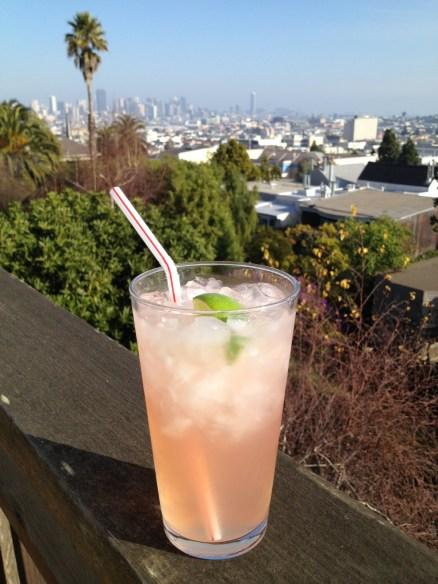 Smirnoff lemonade cocktail