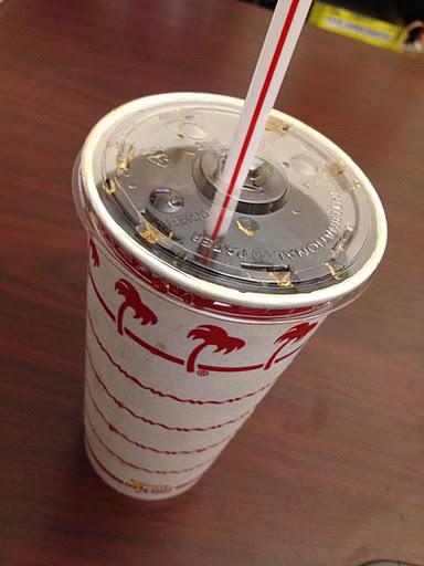 Diet Coke In-N-Out Burger