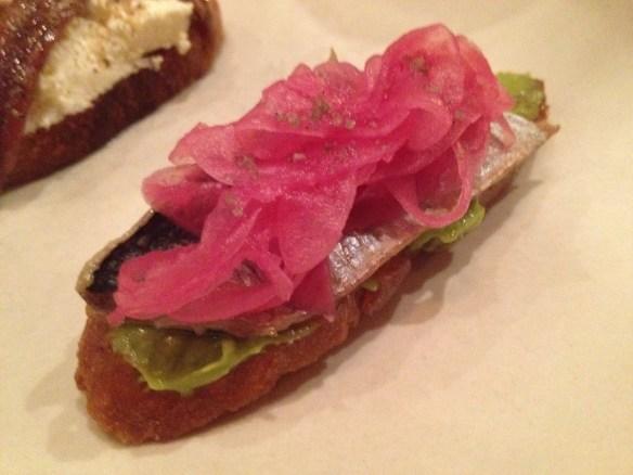 Monterey sardine and avocado toast Contigo