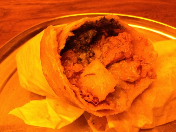 Lamb curry kati roll Kati Indian Eatery