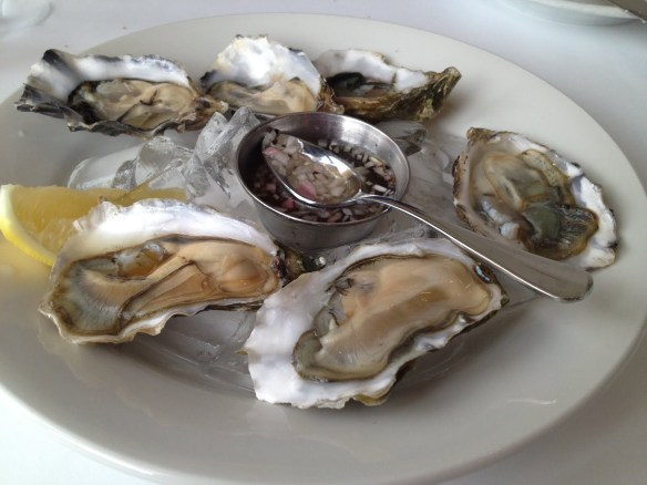Pacific oysters Zuni Cafe