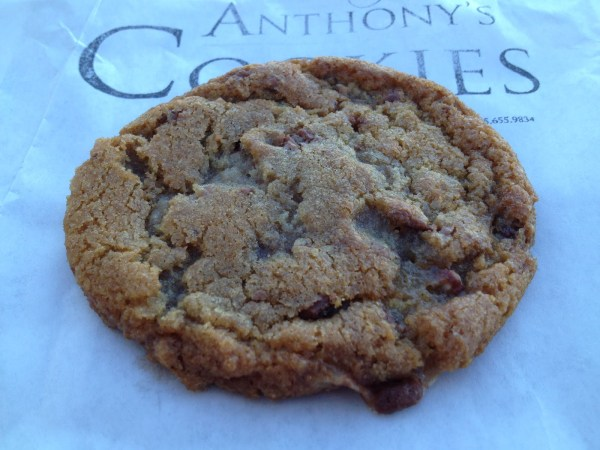 Toffee chip cookie Anthony's Cookies